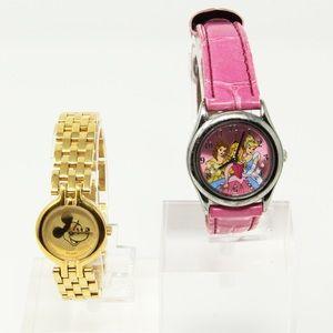 Princess & Mickey Mouse Watch